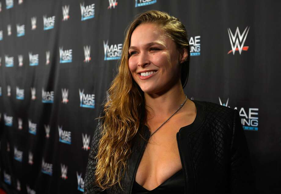 PHOTOS: A look at Ronda Rousey outside the ring and octagonLAS VEGAS, NV - SEPTEMBER 12:  MMA fighter Ronda Rousey appears on the red carpet of the WWE Mae Young Classic on September 12, 2017 in Las Vegas, Nevada.  (Photo by Bryan Steffy/Getty Images for WWE)Browse through the photos above for a look at Ronda Rousey outside the octagon and ring. Photo: Bryan Steffy/Getty Images For WWE