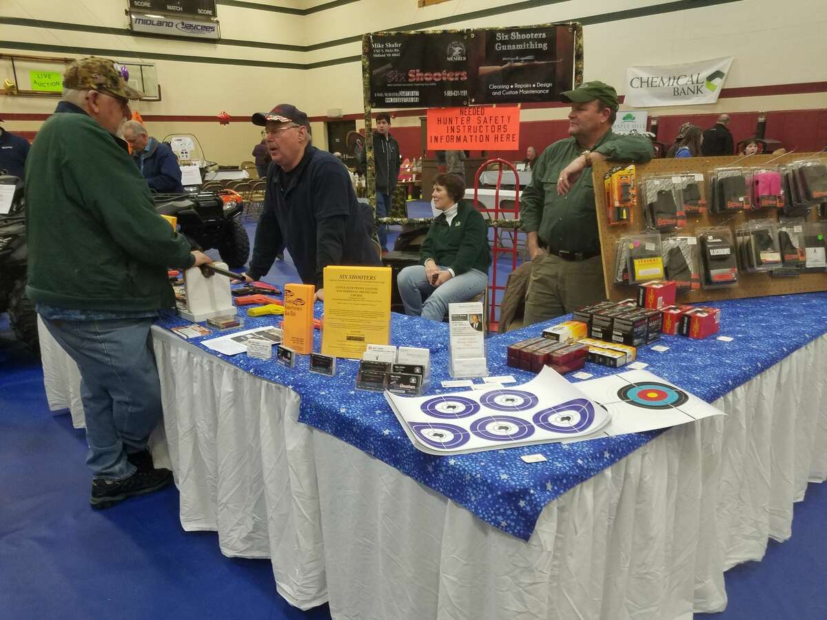 The 13th annual Call of the Wild fundraiser for the Greater Midland North Family Center, 2601 E. Shearer Road in Mills Township, features hunting and fishing vendors, children's activities, dinner, silent auctions and demonstrations.