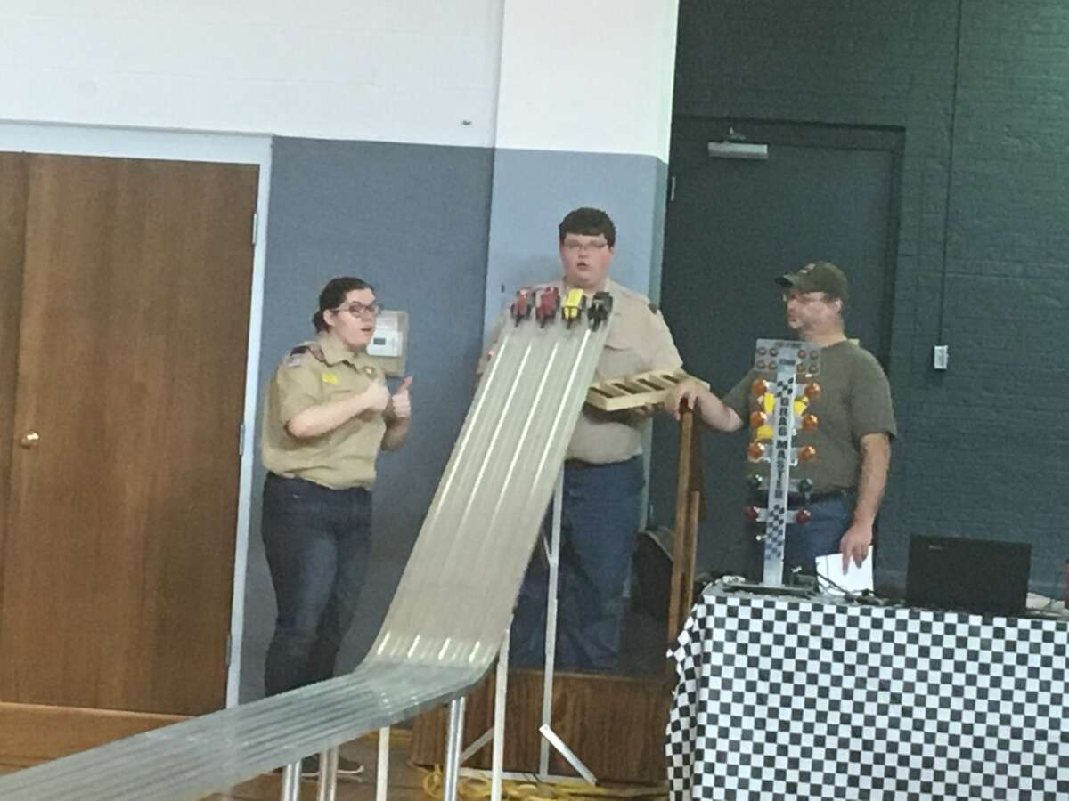 Cub Scout Pack 4316 conducted its annual pinewood derby Saturday at First Baptist Church.Pack 4316 will also conduct a spaghetti dinner from 4 p.m. to 8 p.m. Saturday, Feb. 3, at First Baptist Church. All-you-can-eat meals are $10 for adults and $8 for kids. Proceeds will be used to help send members of Pack 4316 to camp.