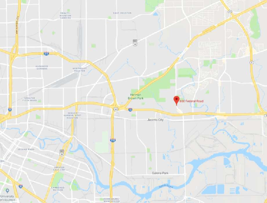 A 31-year-old male was fatally shot in east Houston Sunday, Houston Police said. Officers were dispatched to 800 Federal Road around 2 a.m. after a witness said they heard a gunshot and then saw a car drive into a ditch near.