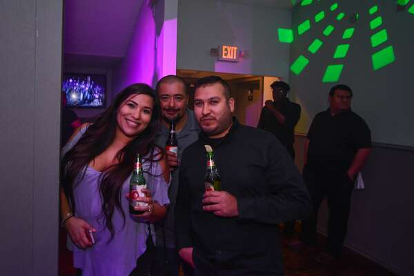 """Groove House, dubbed as San Antonio's """"first throwback bar,"""" was jumpin', jumpin' Saturday, Jan. 27, 2018, days after opening. The bar opened on San Antonio's north side with '80s and '90s-themed videos, music and decor throughout, plus a roster of cocktails."""