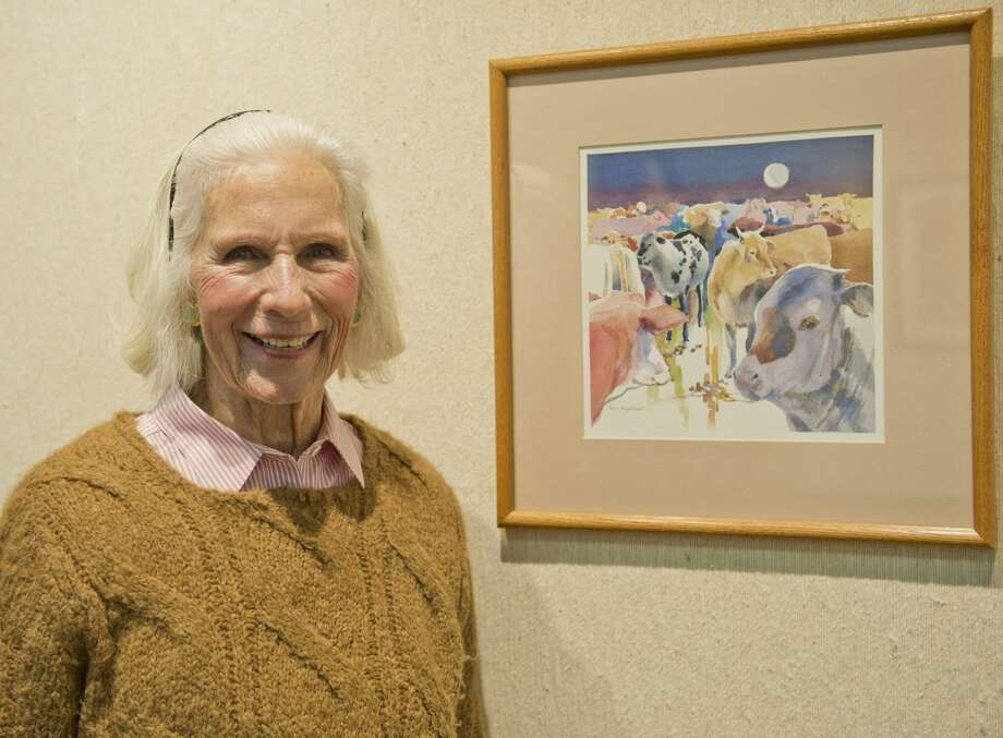 Elaine Gist will show her paintings at the Haley Library.  01/25/18 Tim Fischer/Reporter-Telegram Photo: Tim Fischer/Midland Reporter-Telegram