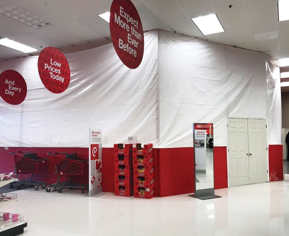 Target in Edwardsville is currently undergoing a significant remodel. The store is set to receive new flooring, a new Starbucks café, an updated food court and restroom area. No word yet on when the remodel will be complete. Photo: Cody King • Cking@edwpub.net