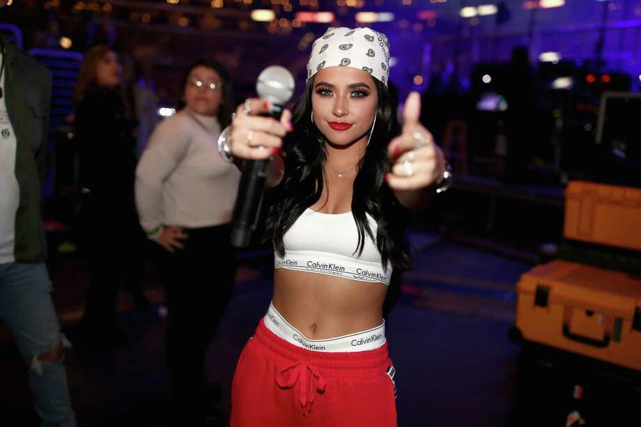 LOS ANGELES, CA - JANUARY 20:  Becky G attends Calibash Los Angeles 2018 at Staples Center on January 20, 2018 in Los Angeles, California. Photo: Christopher Polk, Getty Images For SBS / 2018 Getty Images
