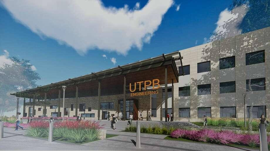 Renderings for the new engineering building at UTPB. Tim Fischer/Reporter-Telegram Photo: Tim Fischer/Midland Reporter-Telegram