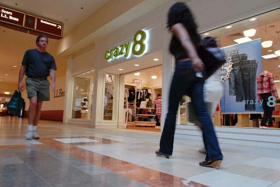 Crazy 8, a children's clothing store that opened at Colonie Center Mall in Colonie, N.Y. on Tuesday, July 21, 2009, is set to close.  (Paul Buckowski / Times Union) Photo: PAUL BUCKOWSKI / 00004782A