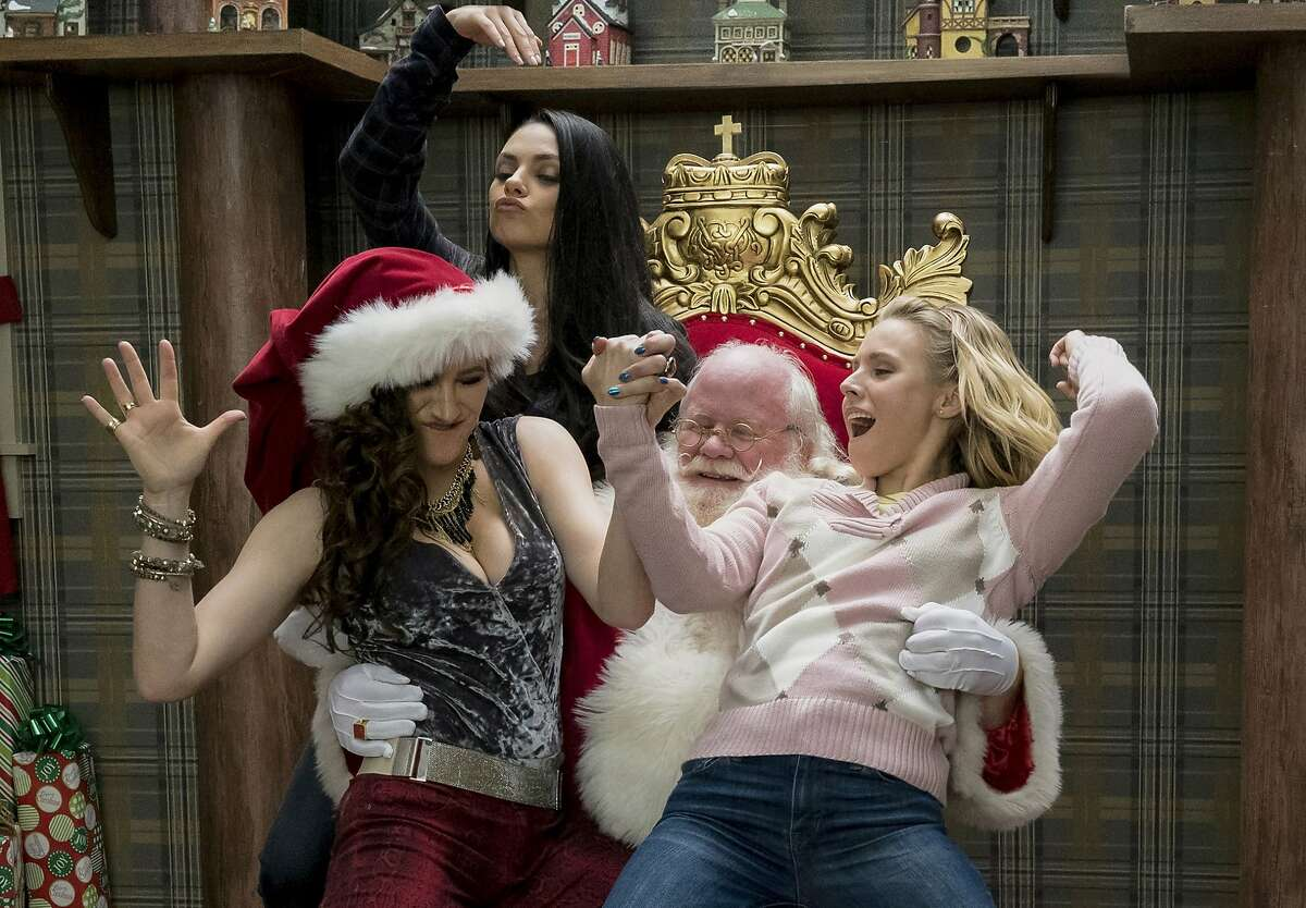 A Bad Moms Christmas (2017) Available on Netflix Feb. 1 As their own mothers drop in unexpectedly, our three under-appreciated and over-burdened moms rebel against the challenges and expectations of the Super Bowl for mothers: Christmas.