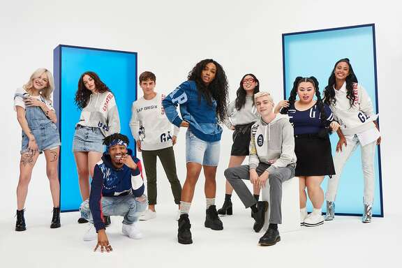 The Gap's Archive Reissue- Logo Remix collection featuring Bria Vinaite, Sabrina Cloudio, Metro Boomin, Connor Franta,� Sza, Awkwafina,�Miles Heizer, Naomi Watanabe and Maya Jama.