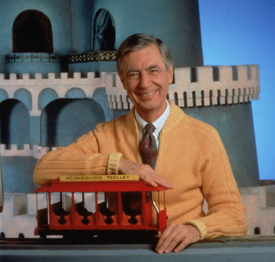 "Fred Rogers on ""Mister Rogers' Neighborhood."" Photo: Fotos International/Getty Images"