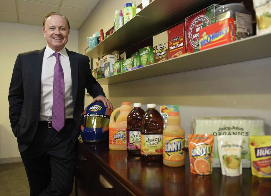 Brynwood Partners Chairman and CEO Henk Hartong III poses at the Brynwood office in the Cos Cob section of Greenwich, Conn. Wednesday, Jan. 24, 2018. Brynwood currently manages more than $1.1 billion of private equity capital with active portfolio company investments including Harvest Hill Beverage Company, which manufactures Juicy Juice and SunnyD, Cold Spring Brewing Company, Joseph's Gourmet Pasta Company, and Pearson Candy Company. Photo: Tyler Sizemore / Hearst Connecticut Media / Greenwich Time