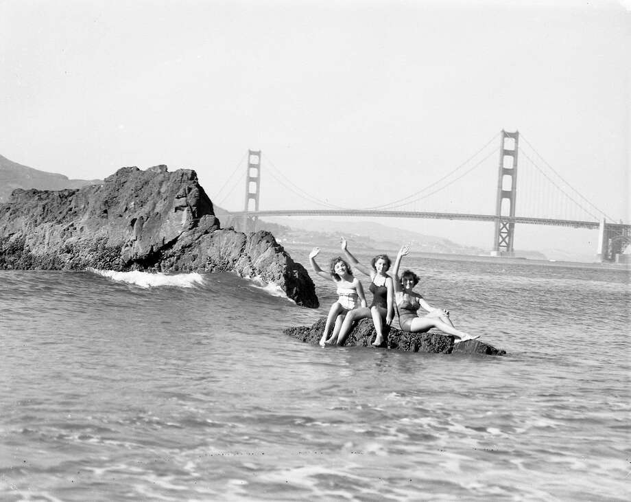 China Beach in SanFrancisco on a warm day, September 9, 1951 Photo: Photographer Unknown, The Chronicle