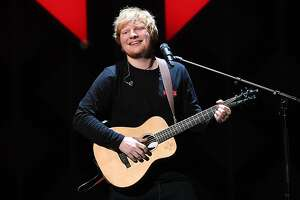 (FILES) This file photo taken on December 08, 2017 shows Ed Sheeran performing at the Z100's iHeartRadio Jingle Ball 2017 at Madison Square Garden in New York. British singer Ed Sheeran's third hit album was nominated on January 13, 2018 for the British pop awards, Brit Awards where he will be competing with four young talents, including British-Kosovan singer Dua Lipa. / AFP PHOTO / ANGELA WEISSANGELA WEISS/AFP/Getty Images