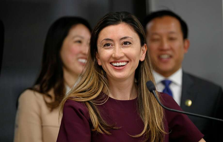 Katrina Lake is CEO of Stitch Fix, which had multiple lactation rooms even before the San Francisco ordinance was passed. Photo: Michael Macor, The Chronicle