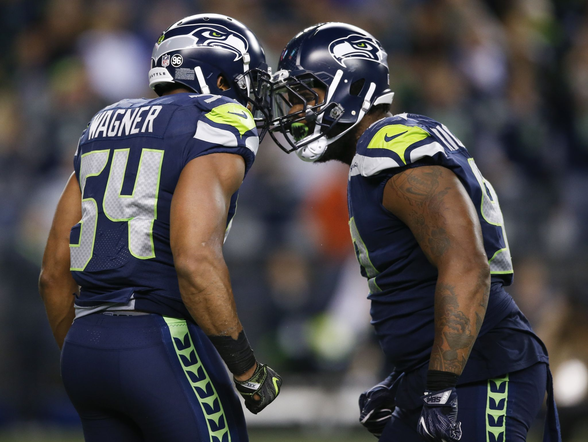 'It's scary': Seahawks boast arguably NFL's most imposing front seven