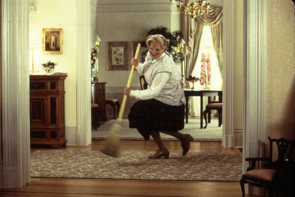 """Mrs. Doubtfire"" -- Robin Williams"