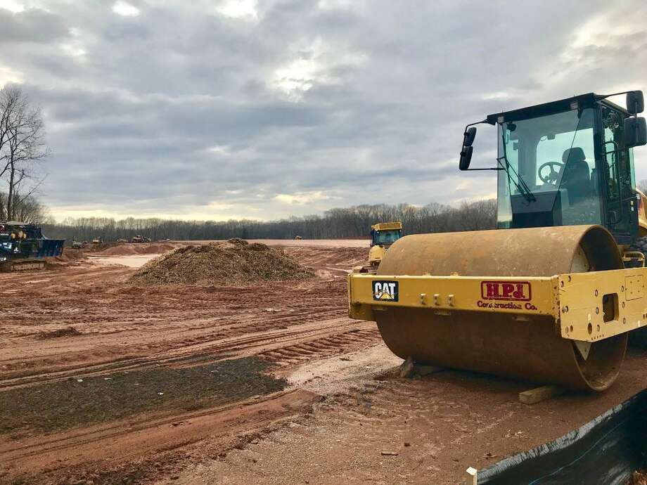 Scannell Properties has purchased the former Gardner's Nurseries at 120 County Line Road in Cromwell, where construction of a 403,000-square-foot building has begun on 28 acres of land near the transfer station. Photo: Cassandra Day / Hearst Connecticut Media
