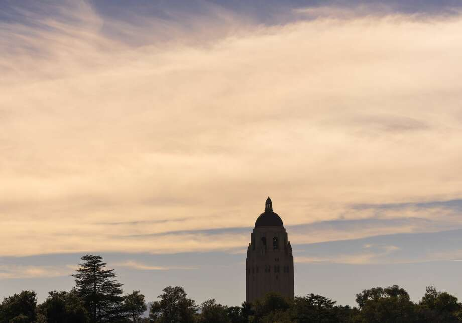 A general view of Hoover Tower on the campus of Stanford University in Palo Alto, California.  (Photo by David Madison/Getty Images) Photo: David Madison/Getty Images