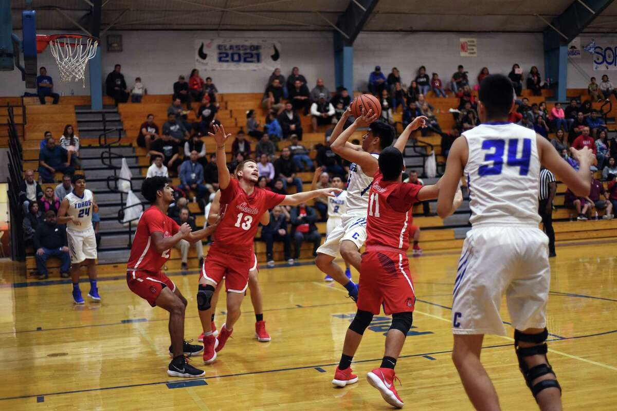 The rematch between Martin (15-13, 9-2 district) and Cigarroa (12-18, 8-4) is set for Tuesday. The Toros topped the reigning district champs in the first round by a point.