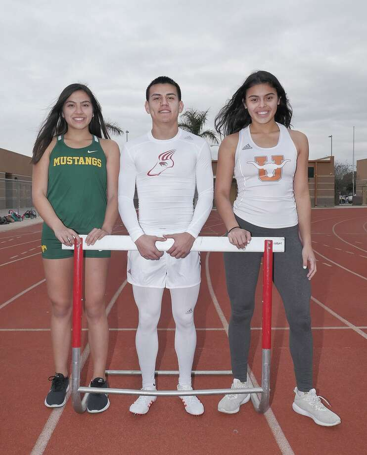 Martin's Angel Davila, Nixon's Veronica Garcia and United's Sadey Rodriguez are all back for their senior season after earning a trip to the state meet last year. Photo: Cuate Santos /Laredo Morning Times / Laredo Morning Times