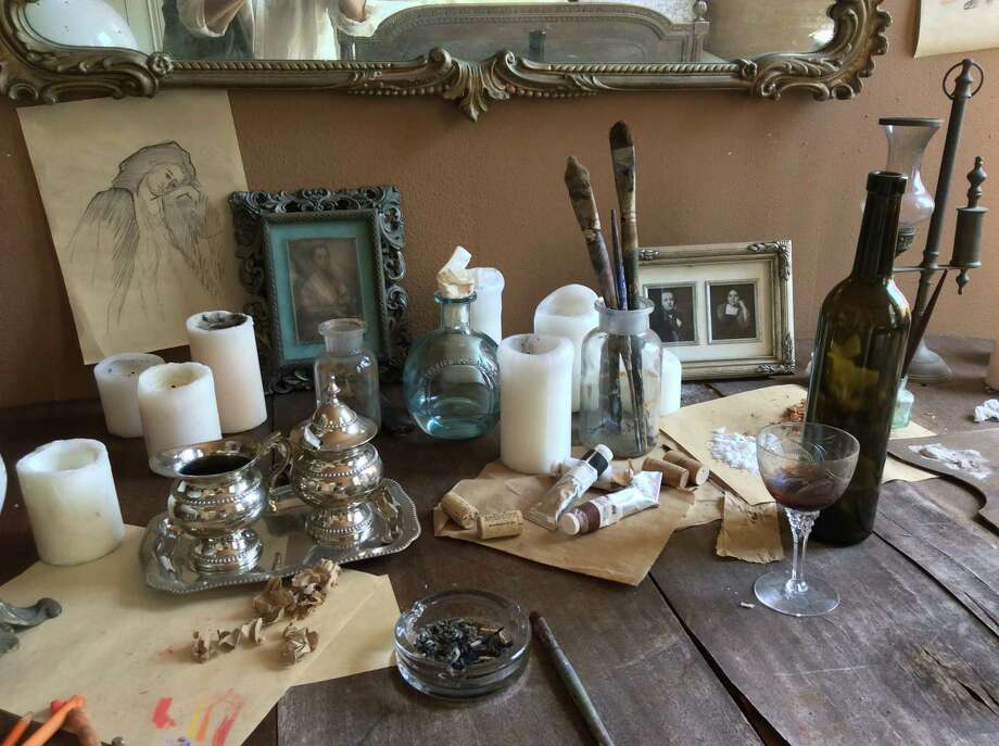 Tour the Degas House in New Orleans and see where the noted  Impressionist painter Edgar Degas created some of his work during his  stay for several months in 1872-73. Photo: Michelle Newman / For The Express-News