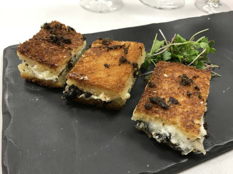 Hubbell & Hudson restaurant won the 2018 Truffle Masters competition with a truffle grilled cheese on brioche. Photo: Jody Schmal / Houston Chronicle