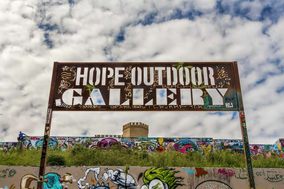 Austin is about to get even less weird. One of the city's most colorful outdoor spaces, HOPE Outdoor Gallery, will soon be demolished. According to the Community Impact in Austin, the Historic Landmark Commission voted to approve the demolition of the concrete walls and slabs. There was no further discussion.  Photo: EUGENE BROTHERMANROUND ROCK, TEXAS