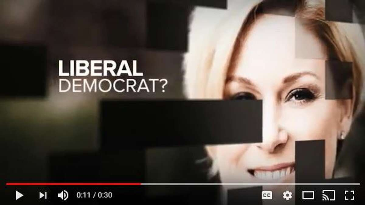 In his second campaign ad to oust Republican Rep. Sarah Davis, released Jan. 30, 2017, Gov. Greg Abbott goes negative against the incumbent. (Courtesy of Texans for Greg Abbott.)