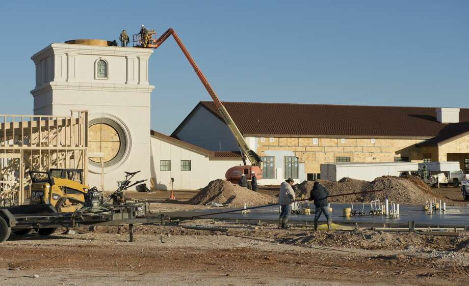 Construction continues 01/25/18 on The Way Retreat Center off Todd Road. Tim Fischer/Reporter-Telegram Photo: Tim Fischer/Midland Reporter-Telegram