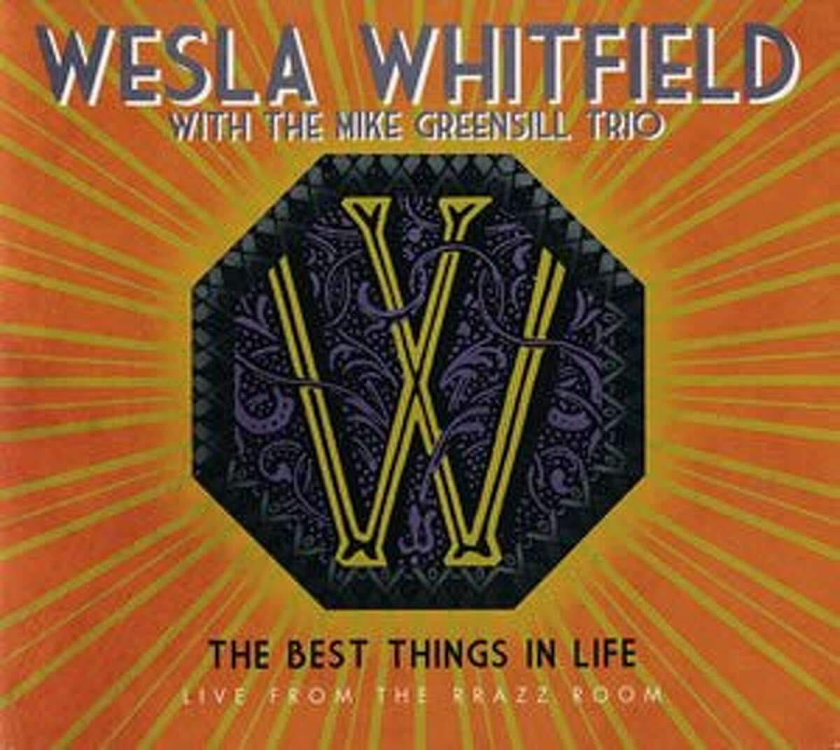 CD cover for Westla Whitfield's