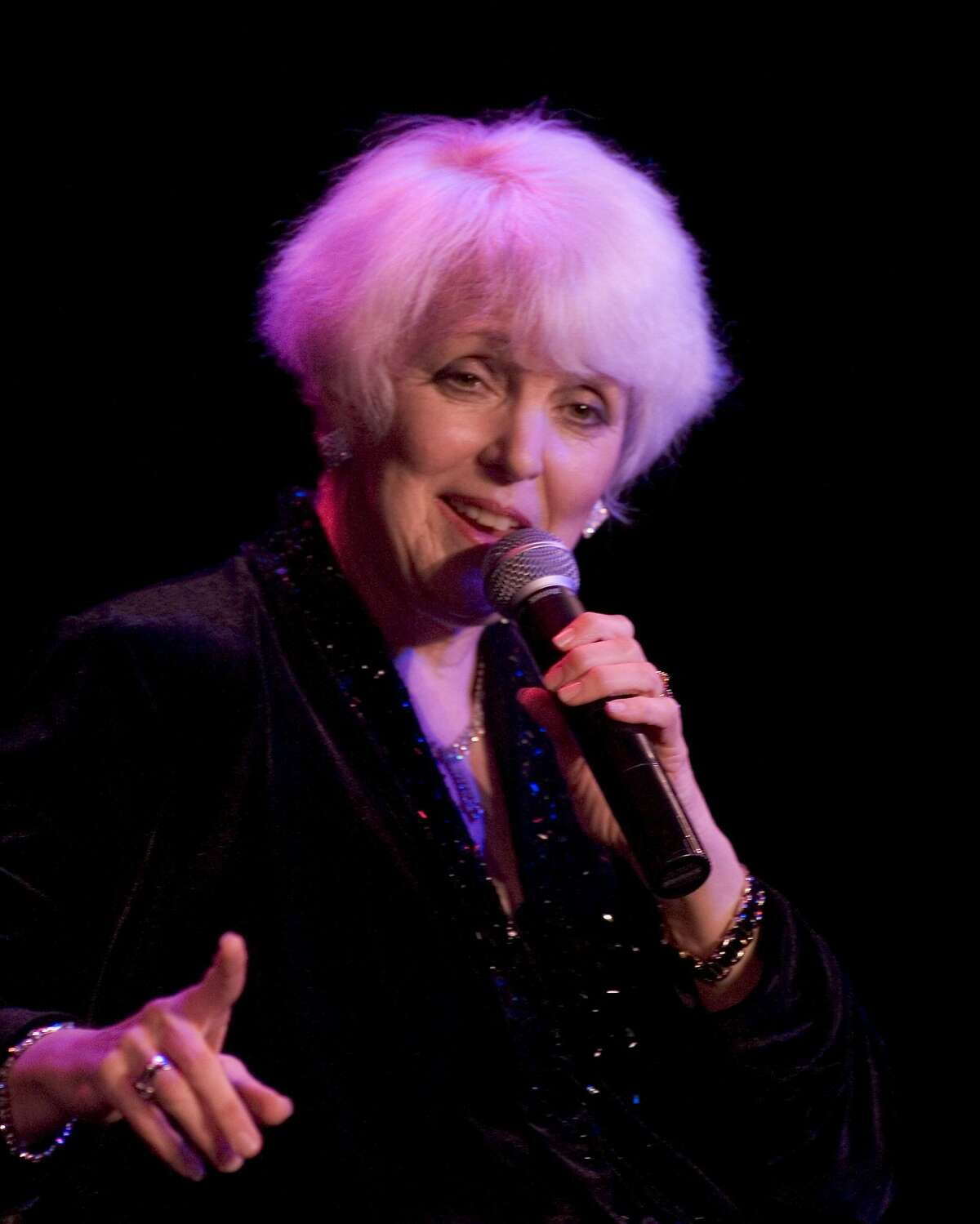 Wesla Whitfield at her 25th Anniversary run at the Plush Room.
