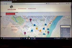Screenshot of HEAR about HERE website