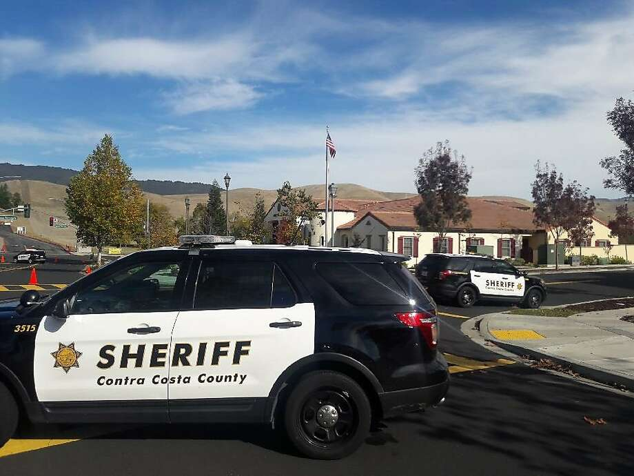 File photo of a Contra Costa County Sheriff's car. Photo: Contra Costa County Sheriff's Office