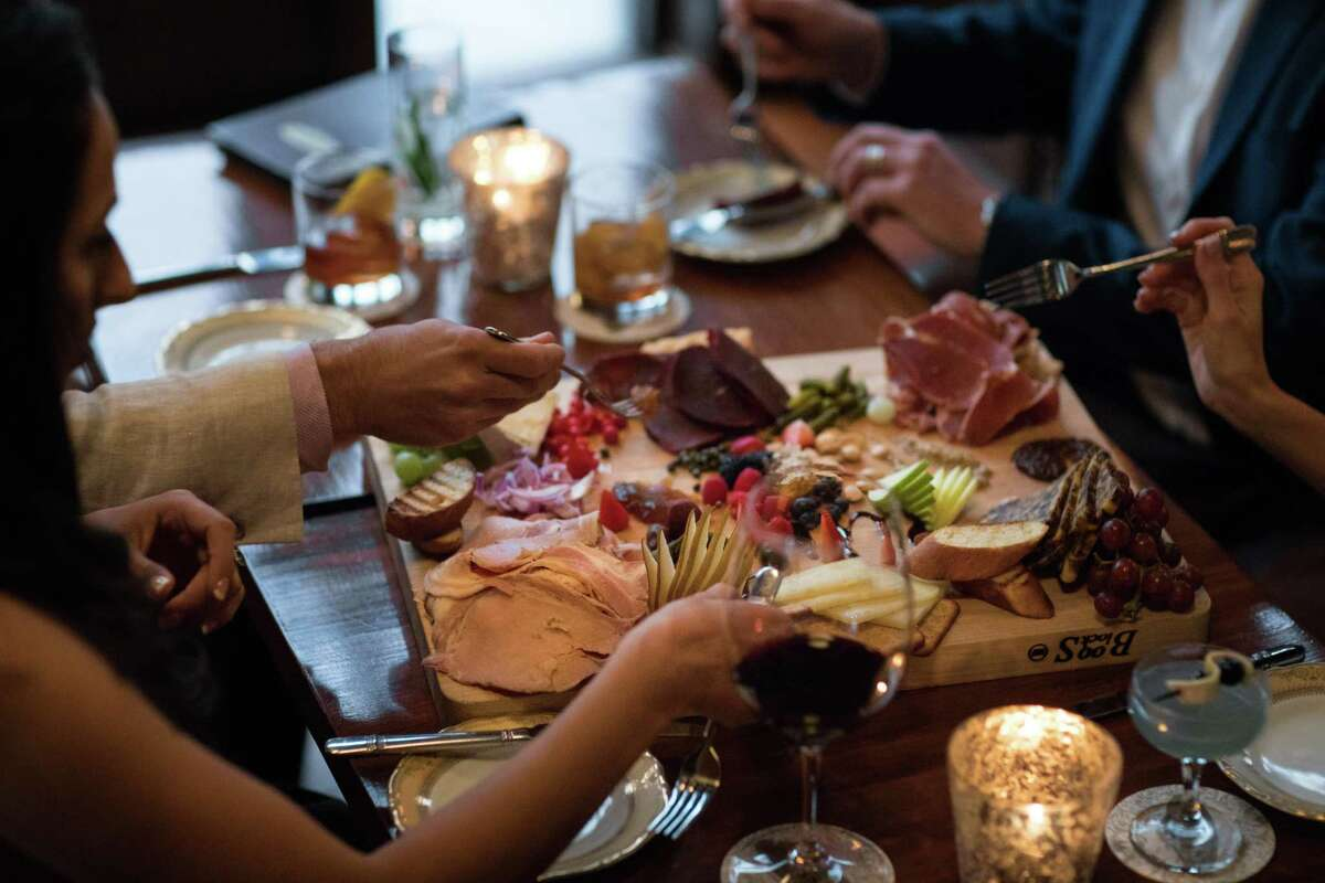 The Bar at Bohanan's features refined bar food selections, from charcuterie and salads to heavier options like braised akaushi short ribs.