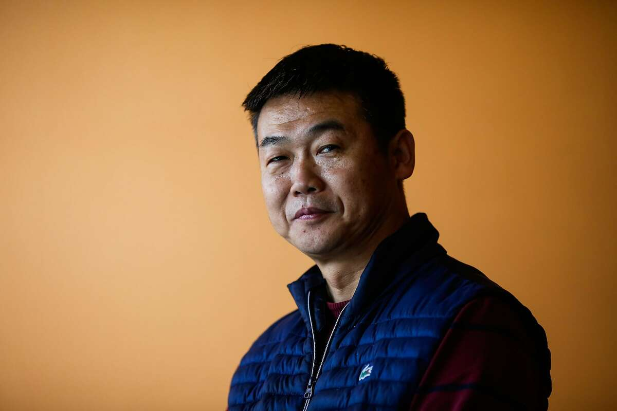 Chef Daihong Zhao stands for a potrait at Chef Zhao Bistro in San Mateo, California, on Wednesday, Jan. 10, 2018.