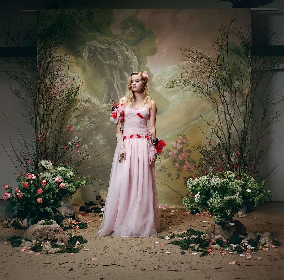 Ava Phillippe�photographed by Autumn de Wilde as part of Rodarte's Spring 2018 portrait series.