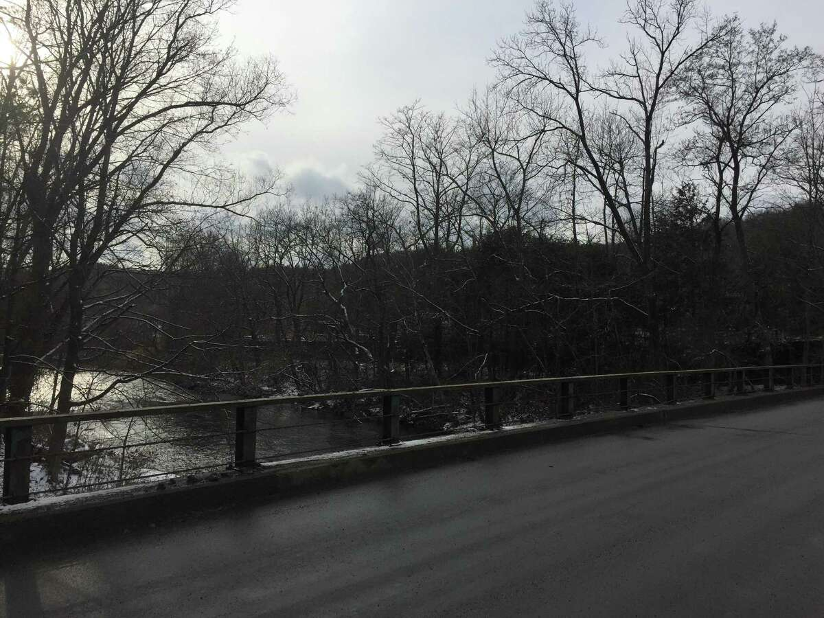 The Naugatuck River, as seen Tuesday from Bogue Road in Torrington.