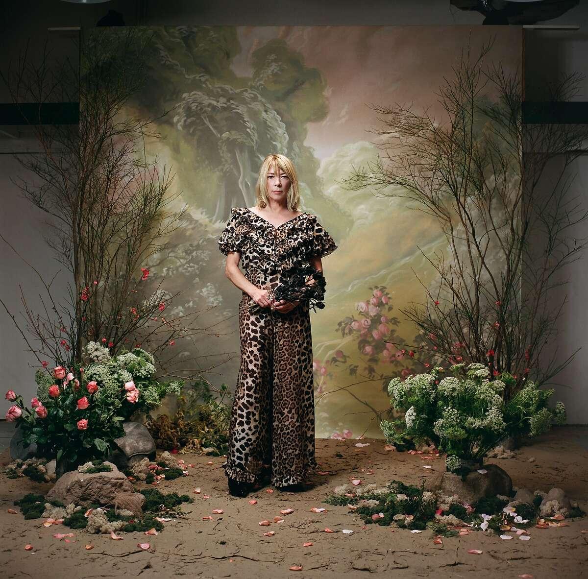 Kim Gordon�photographed by Autumn de Wilde as part of Rodarte's Spring 2018 portrait series.