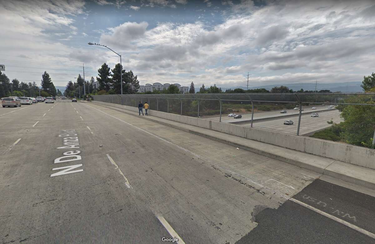 De Anza Boulevard over I-280 Cupertino Although the superstructure and substructure got