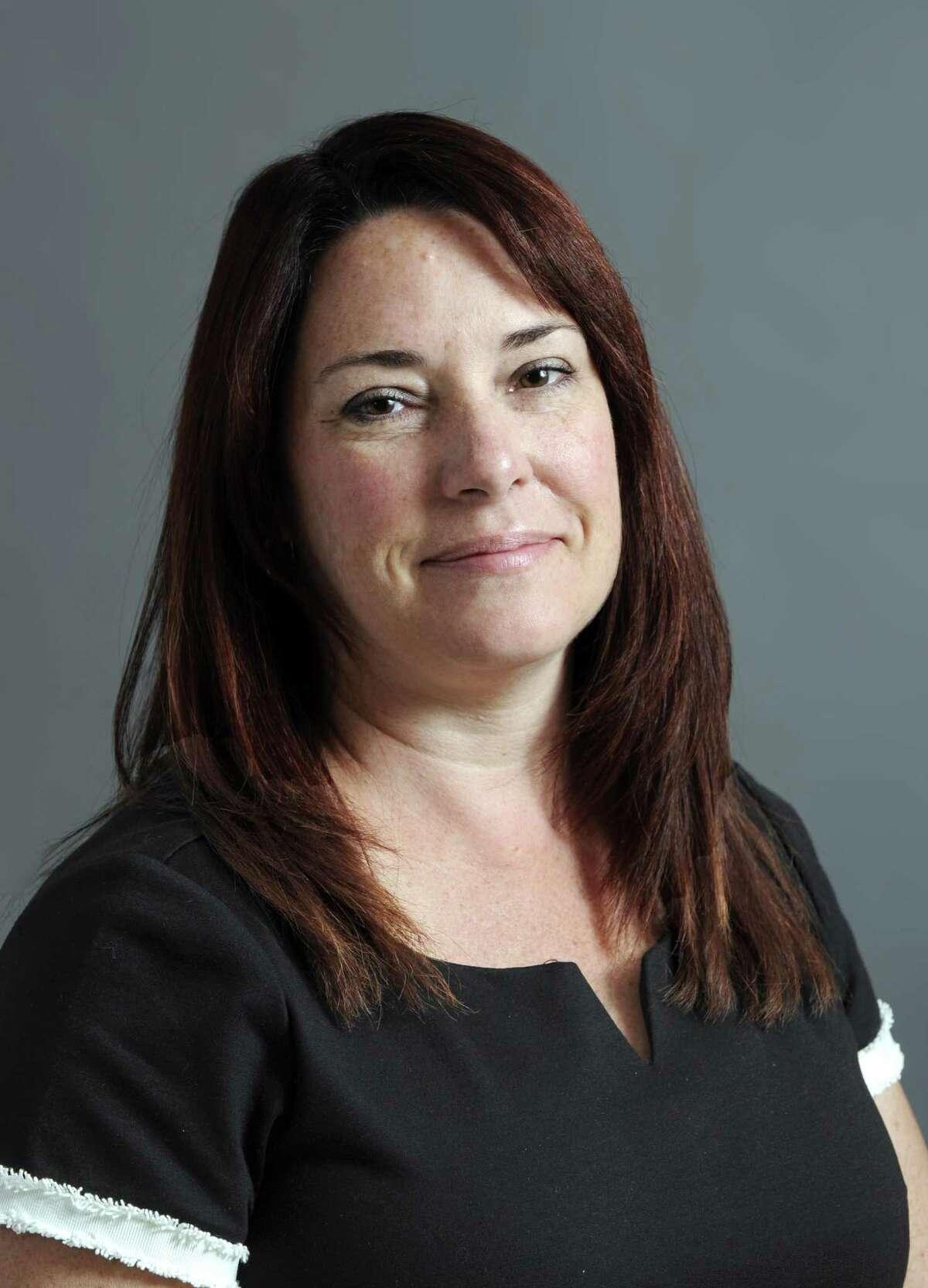 Susan Chapman, First Selectman of New Fairfield. Photo Tuesday, Oct. 31, 2017.