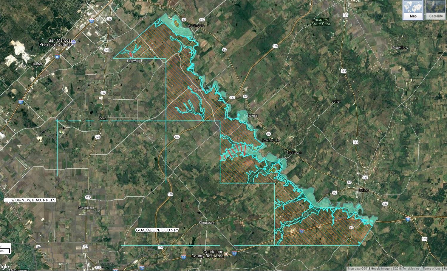 New Fema Flood Maps Show Hazardous Areas In Counties