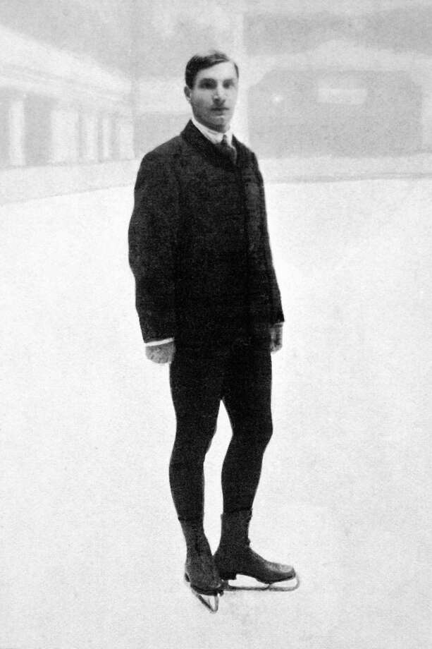 1) Swedish skater Ulrich Salchow in a suit at the Olympic Games in 1908. Photo: Getty Images