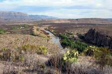 Near Rio Grande Village, a bluff affords a look at the winding river at Big Bend National Park. A reader says building a border wall would be ineffective at keeping out immigrants.