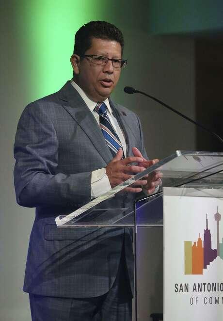 "San Antonio Chamber of Commerce President and CEO Richard Perez is leading the San Antonio Chamber of Commerce's 40th annual ""SA to DC"" trip this week. Photo: John Davenport /San Antonio Express-News / ©San Antonio Express-News/John Davenport"