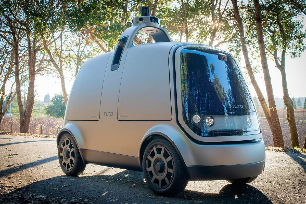 Mountain View startup Nuro has designed a self-driving vehicle specifically for deliveries.
