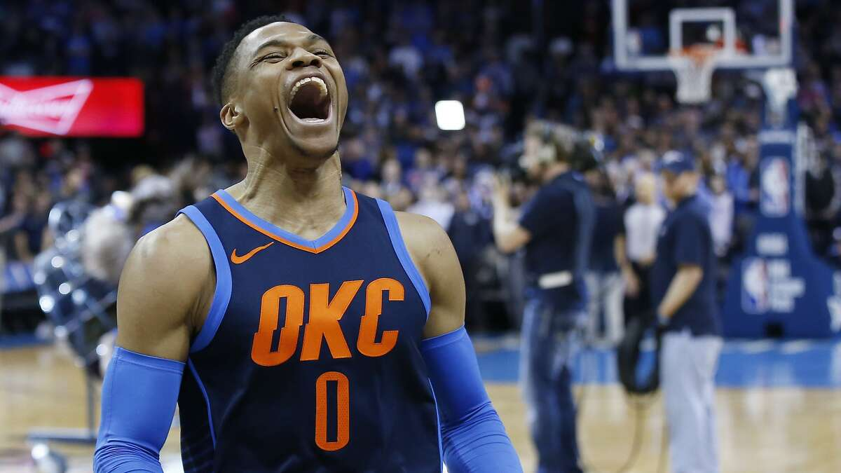 Oklahoma City Thunder guard Russell Westbrook remains the most fierce, relentless competitor in all of sports. It's time the Warriors start paying attention to Oklahoma City.