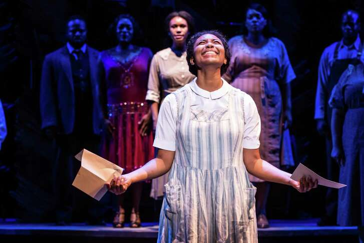 """""""The Color Purple"""" -- starring Adrianna Hicks as Celie -- is returning to the Majestic Theatre."""