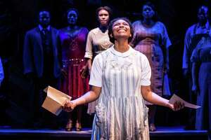"""The Color Purple"" -- starring Adrianna Hicks as Celie -- is returning to the Majestic Theatre."