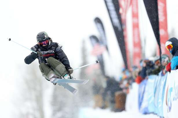 SNOWMASS, CO - JANUARY 12:  Brita Sigourney #11 competes in the Women's Freeski Halfpipe final during the Toyota U.S. Grand Prix on January 12, 2018 in Snowmass, Colorado.  (Photo by Matthew Stockman/Getty Images)