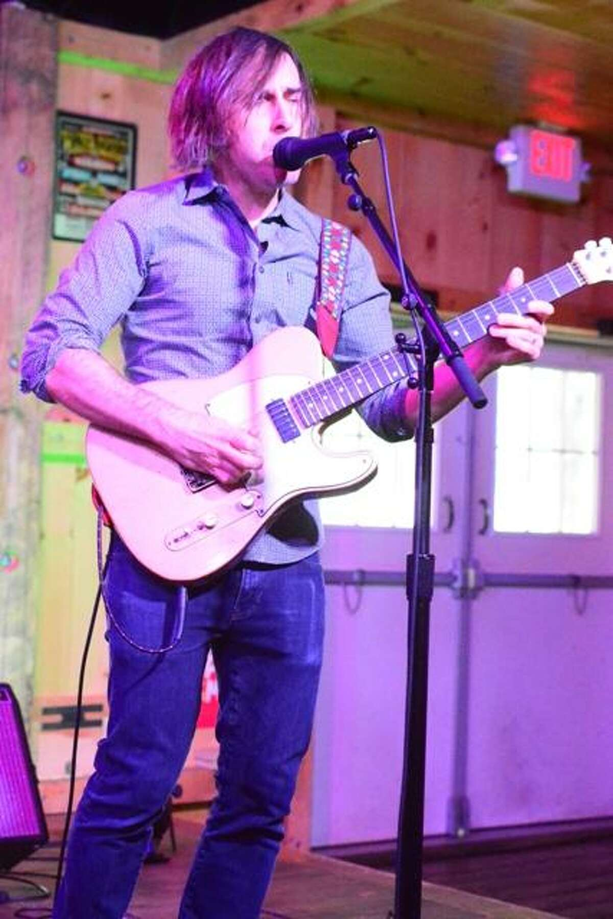 Chris Bergson is performing at Black-Eyed Sally's on Saturday