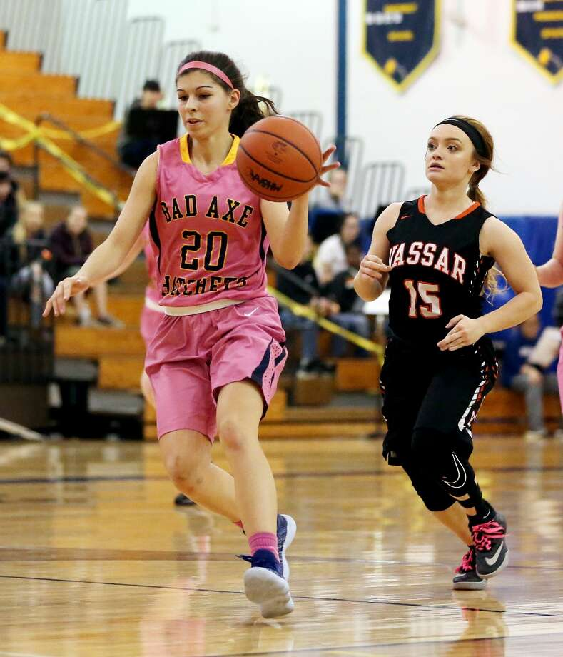 Vassar at Bad Axe — Girls Basketball 2018 Photo: Paul P. Adams/Huron Daily Tribune